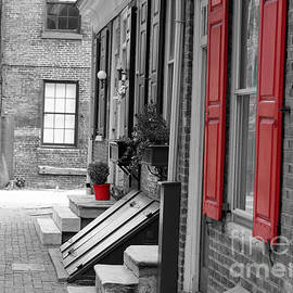 Terry Weaver - Old City Red Shutters