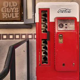 Claudia  Ellis - Old Coca-Cola Vending Machine