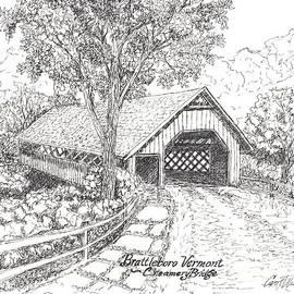 Carol Wisniewski - Old Creamery Bridge in Brattleboro Vermont