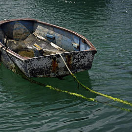 Rod Johnson - Old Dinghy - Penzance Harbour