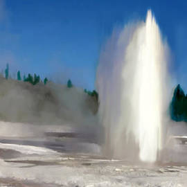 Bob and Nadine Johnston - Old Faithful Gyser Yellowstone