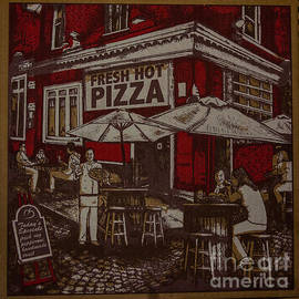Kathy Liebrum Bailey - Old Fashioned Style Pizza Box