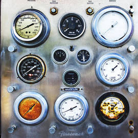 Wes Jimerson - Old Fire Truck Gauge Panel