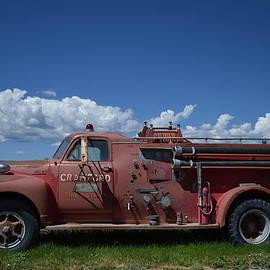 Jeff  Swan - Old fire truck