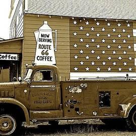 Barbara Zahno - Old Fire Truck on Route 66