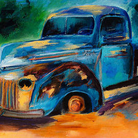 Elise Palmigiani - Old Ford In the Back of the Field