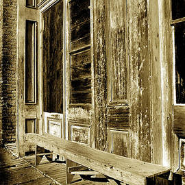 Paul W Faust -  Impressions of Light - Old Ghost Town Bench