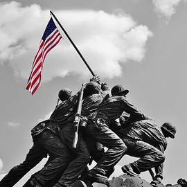 Jean Goodwin Brooks - Old Glory at Iwo Jima