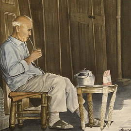 Alber Assi - Old Man In Old Damascus