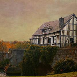 Jean-Pierre Ducondi - Old mill on the broken bridge at Vernon