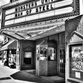 Mel Steinhauer - Old Movie Theater BW