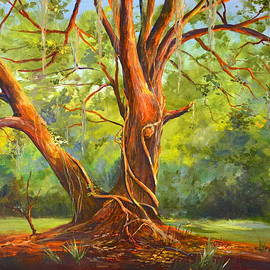 AnnaJo Vahle - Old Oak with Vines