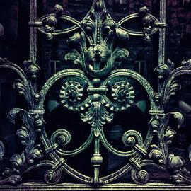 Jaroslaw Blaminsky - Old ornamented gate