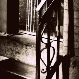 Miriam Danar - Old Railing - Vintage Architecture