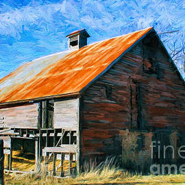 Anna Surface - Old Rusted Red Barn