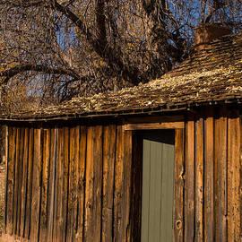 Robert Ford - Old Rustic Cabin Grafton Ghost Town Rockville Utah