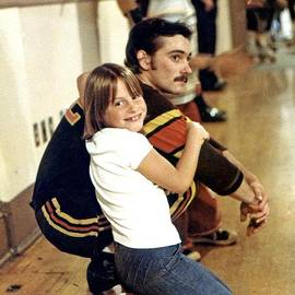Jim Fitzpatrick - Old School Roller Derby Skater and His Number One Fan