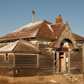 Jeff  Swan - Old Schoolhouse outside of Williston North Dakota