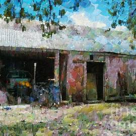 Fran Woods - Old shed near Braidwood