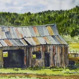 Karen Gartley Bush - Old Shed near Williams AZ