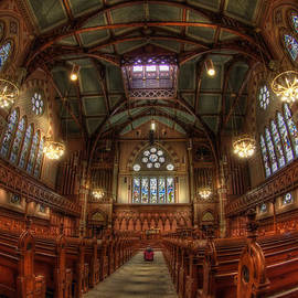 Joann Vitali - Boston Old South Church Interior