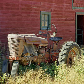 Ann Powell - Old Tractor and Red Barn