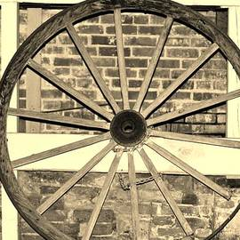 Cynthia Guinn - Old Wagon Wheel 1