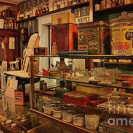 Janice Rae Pariza - Old Western General Store Counter
