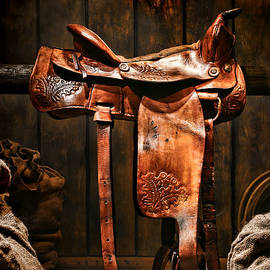 Olivier Le Queinec - Old Western Saddle