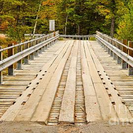 Les Palenik - Old wooden bridge