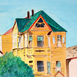 Asha Carolyn Young - Old Yellow House in Downtown Oakland