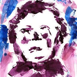 Frank Bright - Oliver Twist Portrait Watercolor
