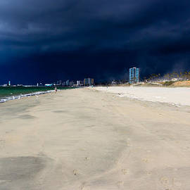 Heidi Smith - Ominous Sky Over Long Beach