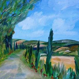 Malia Zaidi - On a Tuscan Road