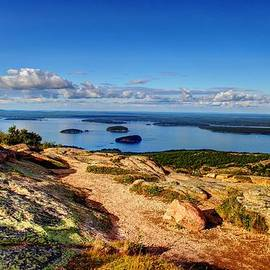 Peggy Berger - On Cadillac Mountain
