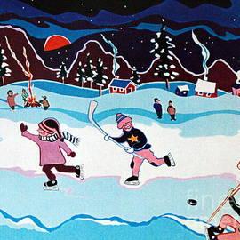 Joyce Gebauer - On Frozen Pond