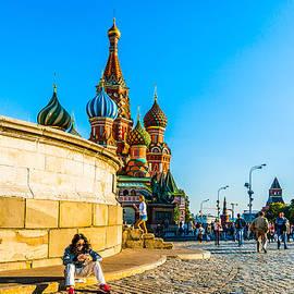 Alexander Senin - On Red Square