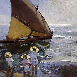 Joaquin Sorolla y Bastida - On the Beach