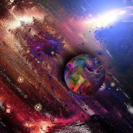 Mario Carini - On the Edge of Fractal Space