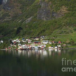 Anne Gilbert - On the Edge of the Fjord