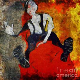 Nicole Philippi - On the red divan
