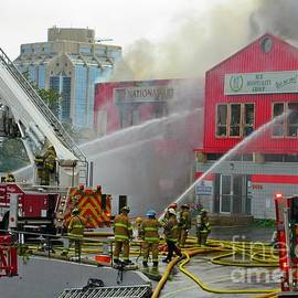 John Malone - On the Scene of a Halifax Fire