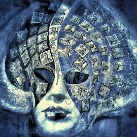 Connie Handscomb - One Mask  - Blue