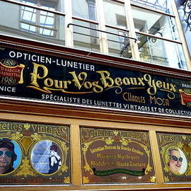 Richard Rosenshein - One Of The Stores Within One Of The Many Passages In Paris France