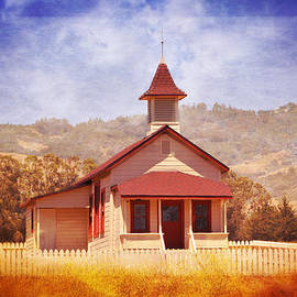 Lynn Bauer - One Room Schoolhouse in San Simeon