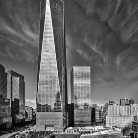 Susan Candelario - One World Trade Center Reflecting Pools BW