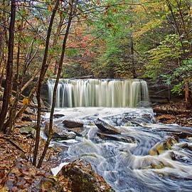 Marcia Colelli - Oneida Waterfall Autumn Splendor