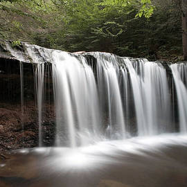 Gene Walls - Oneida Waterfall Wearing a Summer Veil