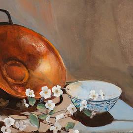 Donna Lee Nyzio - Orange and Blue