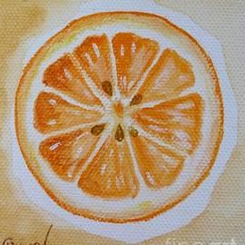 Christine Huwer - Orange